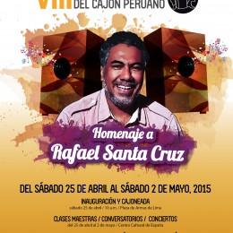 Lanzan 8vo. Festival Internacional del Cajón Peruano