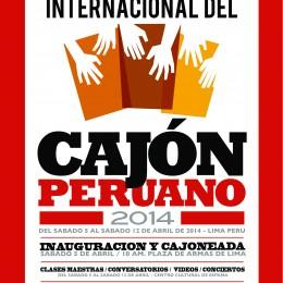 Festival Internacional del Cajón Peruano  le pondrá ritmo a Lima durante una semana