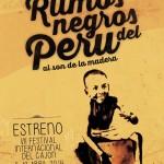 16 - Afiche Ritmos Negros del Peru