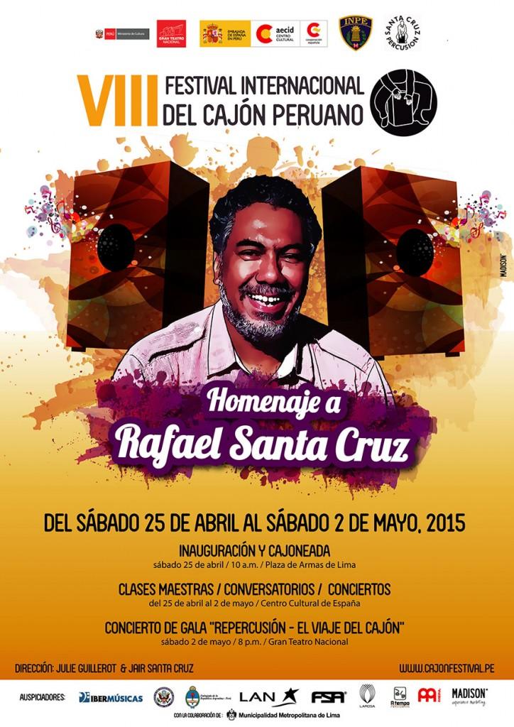 8va edicion - Festival Internacional del Cajon Peruano - 2015