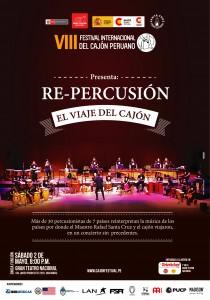 8va edicion - Concierto de Gala - Festival Internacional del Cajon Peruano - 2015